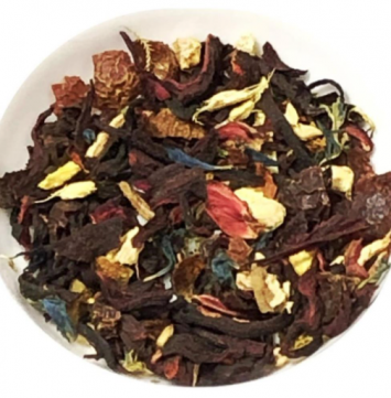 Tea, Hibiscus Blood Orange Herbal Organic