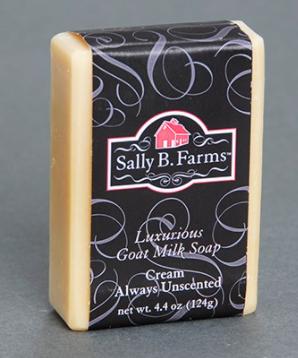 Soap, Cream Unscented, goat milk