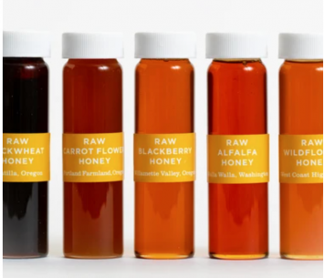 Five Vial Honey Collection