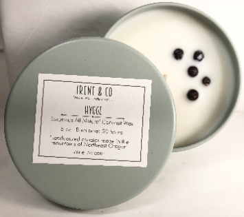 """Candle small, """"hygge"""" scent"""