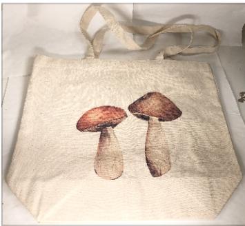 Tote bag, Mushrooms