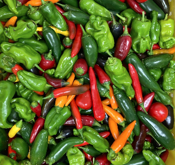 Peppers, spicy mix