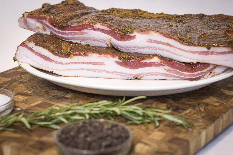 BACON, DRY CURED & SMOKED
