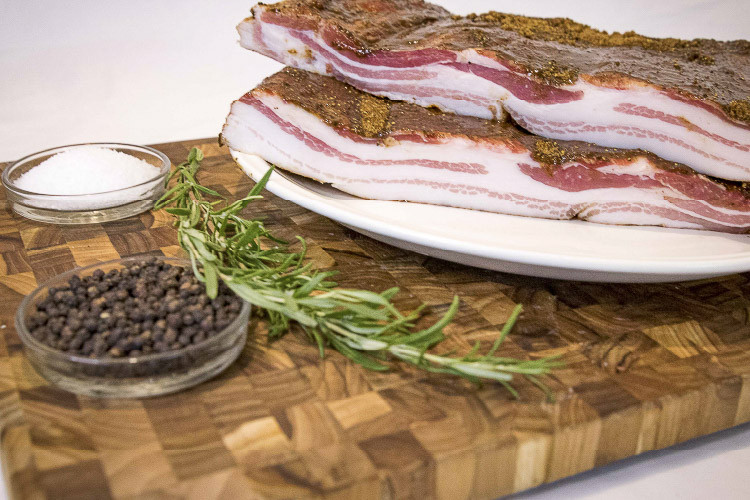 Pork Belly, Cured, 2-3 lb. Slab (Avg. 2.5 lbs.)