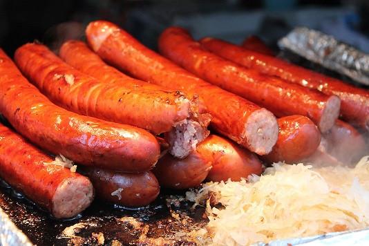 Pork bratwurst sausage -  bulk