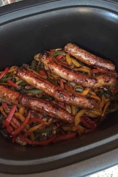 GVF Pork Sausage & Peppers