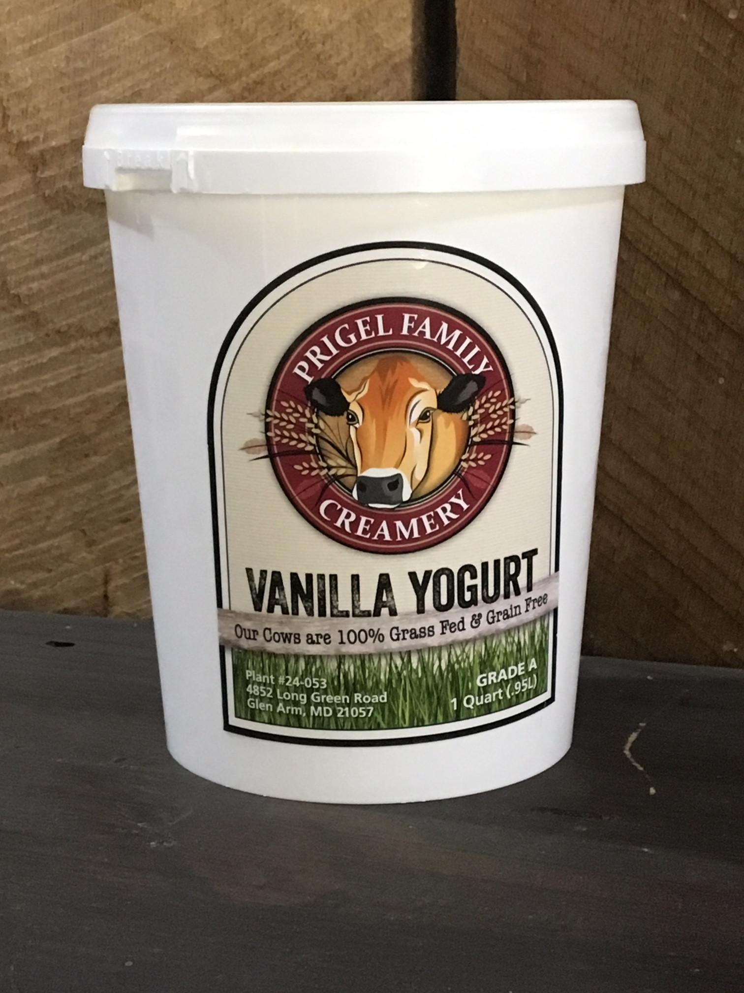 Prigel Organic Yogurt - Vanilla