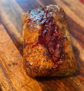 Strawberry Balsamic Pork Loin