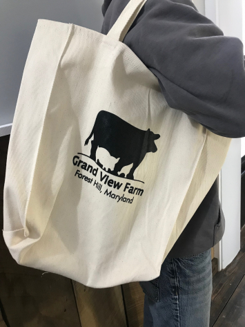 GVF Branded Reusable Shopping Bag