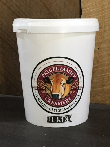 Prigel Organic Yogurt - Honey