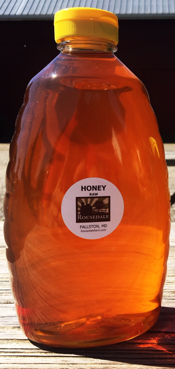 Raw Honey - 3 lbs