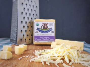 Cheese - Raw Organic Cheddar