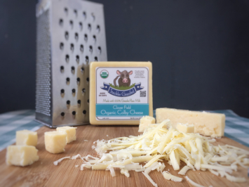 Cheese - Raw Organic Colby