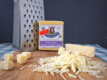 Cheese - Raw Organic Mild Cheddar