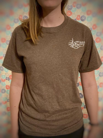 T-shirt Heather Brown - Adult Extra Large