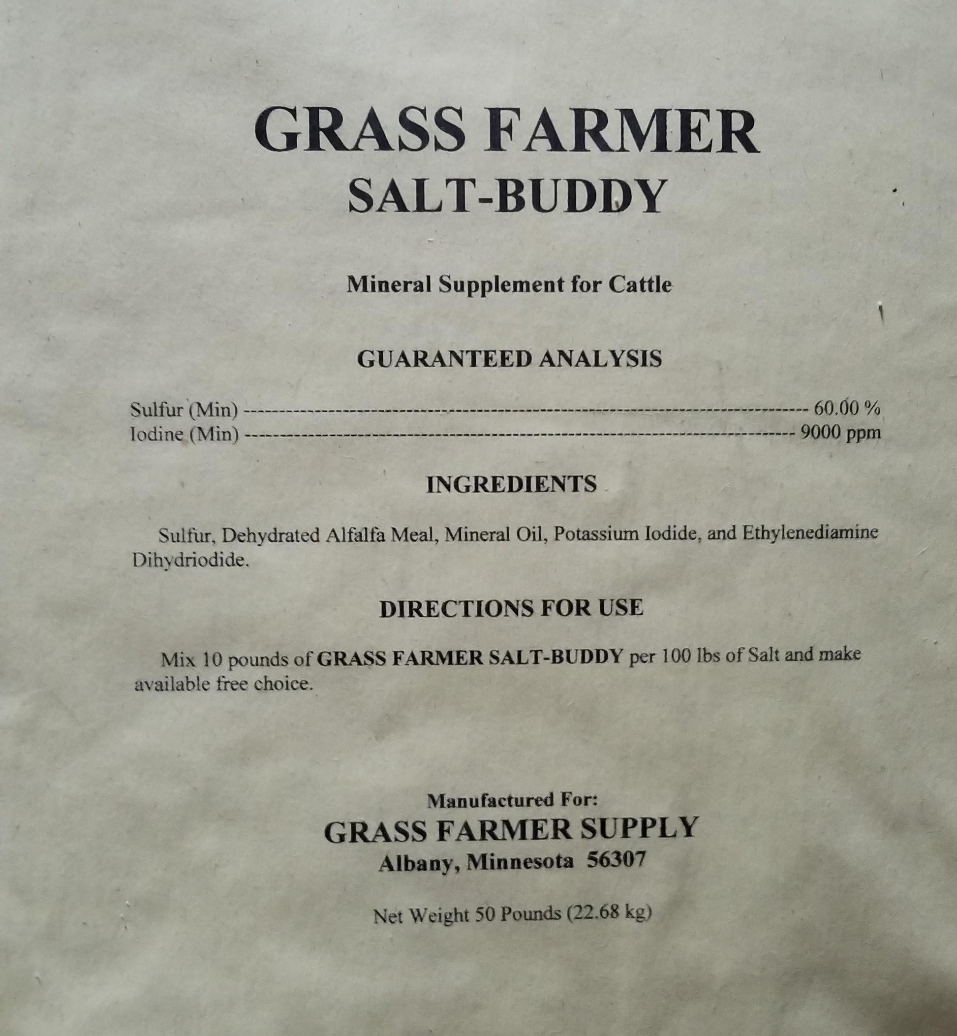 Salt-Buddy 50 LB