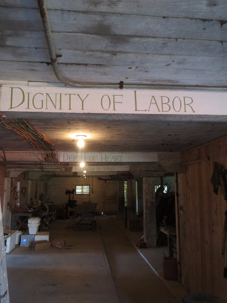 "STRANDS OF LIFE: WE ARE ENUMERATING ""STRANDS OF LIFE"" ON OAK BEAMS IN OUR BARN."