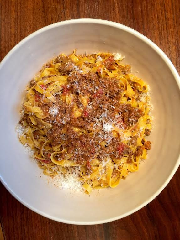 BOLOGNESE: BOLOGNESE SAUCE IS TRAVELING FROM BOLOGNA TO CINCINNATI, VIA THE GRASSROOTS KITCHEN!