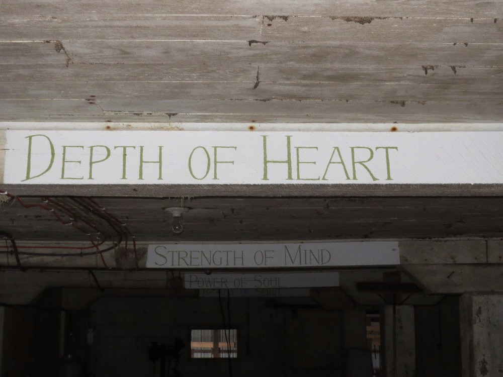 DEPTH OF HEART: PASSION USUALLY ACCOMPANIES SUCCESS.