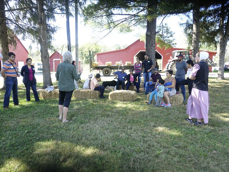 FOOD & POLITICS: OUR FARM TOUR LAST WEEKEND REVEALED A COLLECTION OF CULTURES CONVENING OVER FOOD.