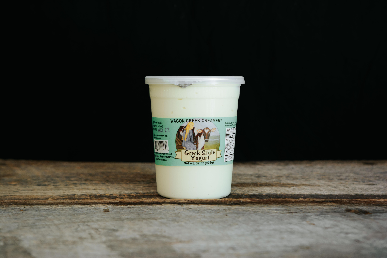 Grass-fed Greek Yogurt - Quart