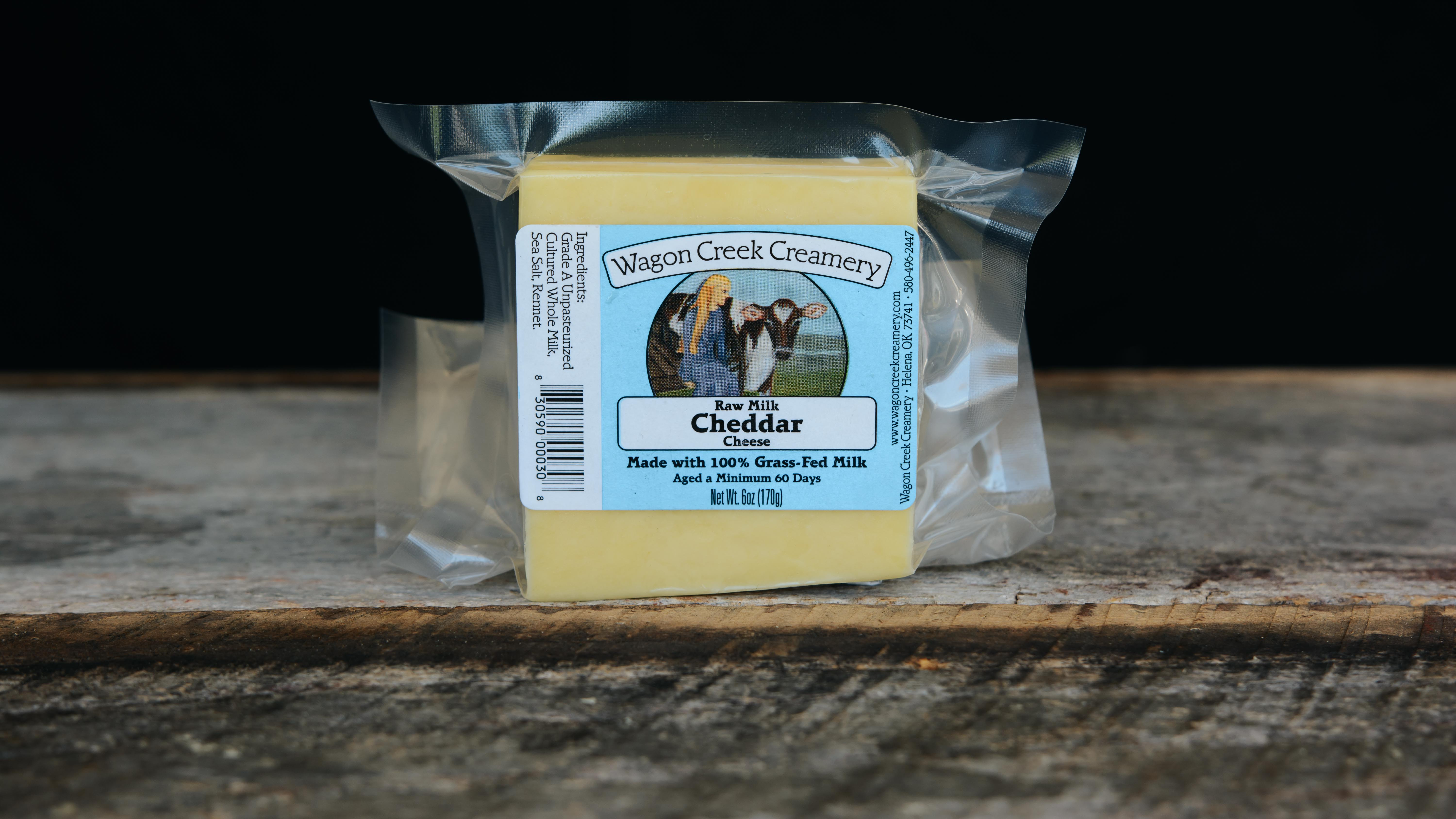 Grass-fed Cheddar Cheese