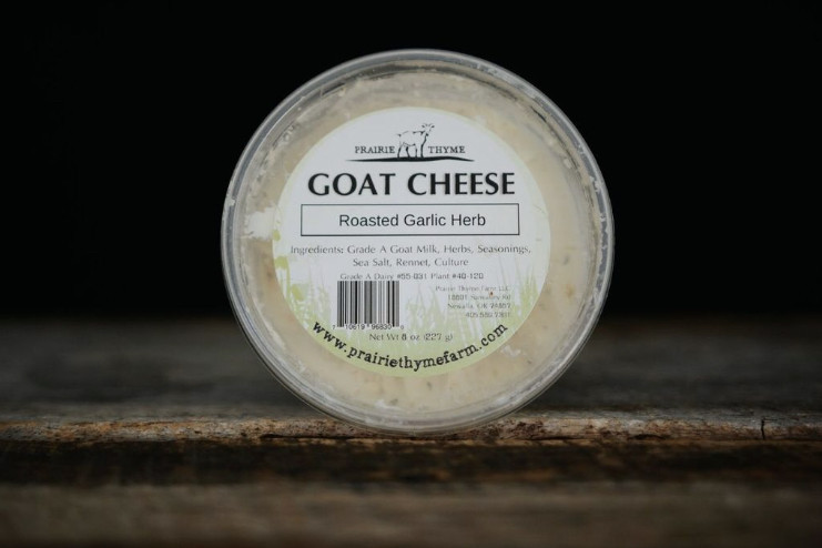 Roasted Garlic and Herb Goat Cheese