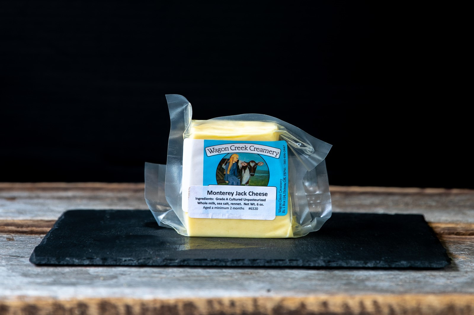 Grass-Fed Monterey Jack Cheese