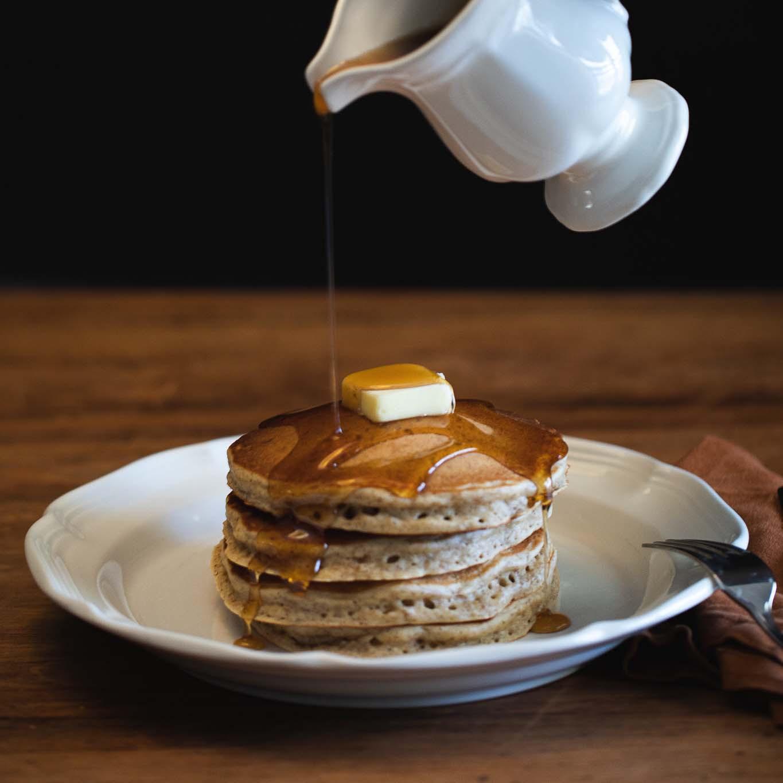 Pecan Flour Pancakes