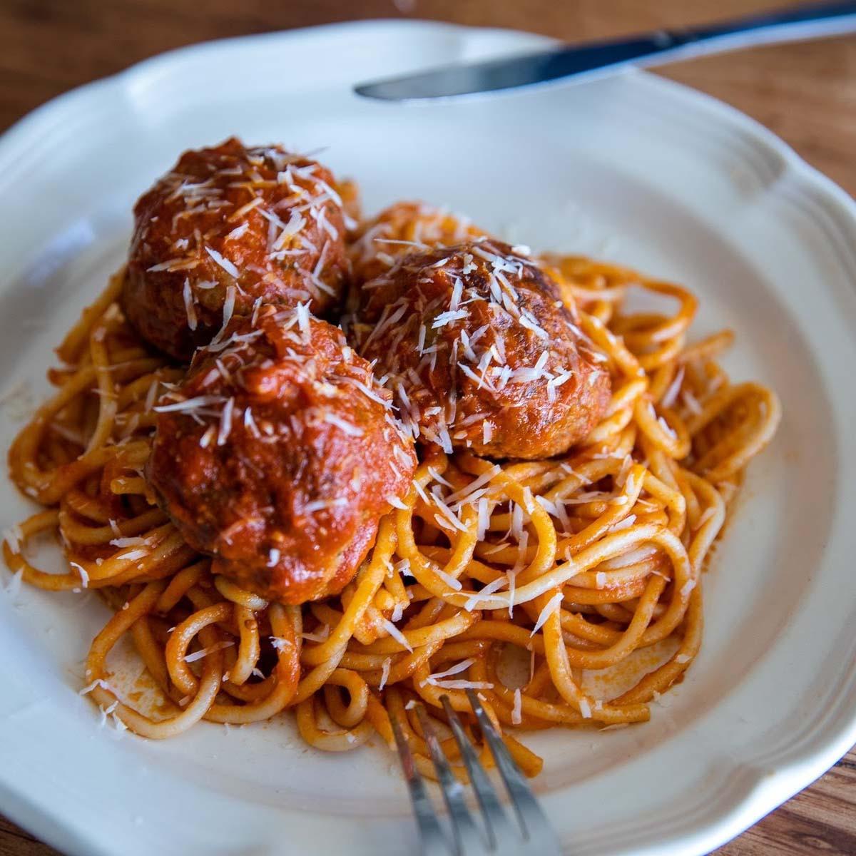 Grassroots Spaghetti & Meatballs