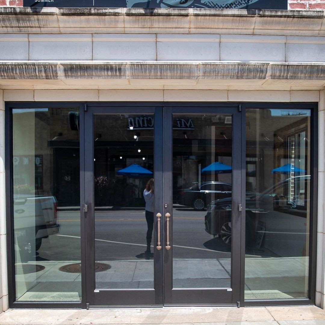 Say hello to our new doors!