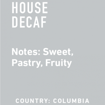 Topeca House Decaf