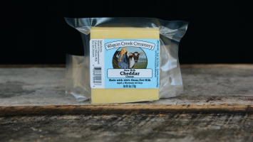 Grass-fed Sharp Cheddar Cheese