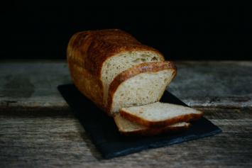 Sliced Sourdough Loaf