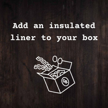 Insulated Box Liner Add-On
