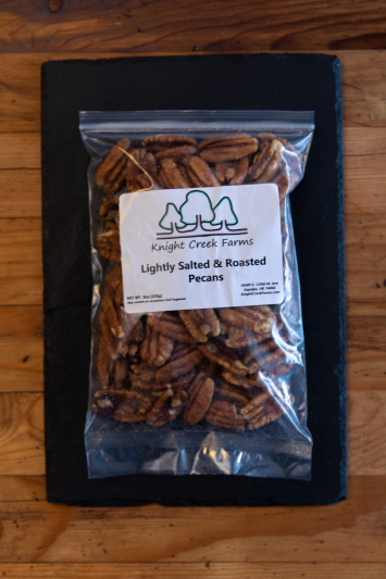Lightly Roasted & Salted Pecans