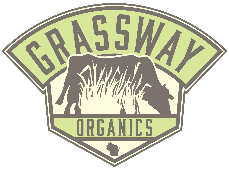 Grassway Organics LLC. Logo