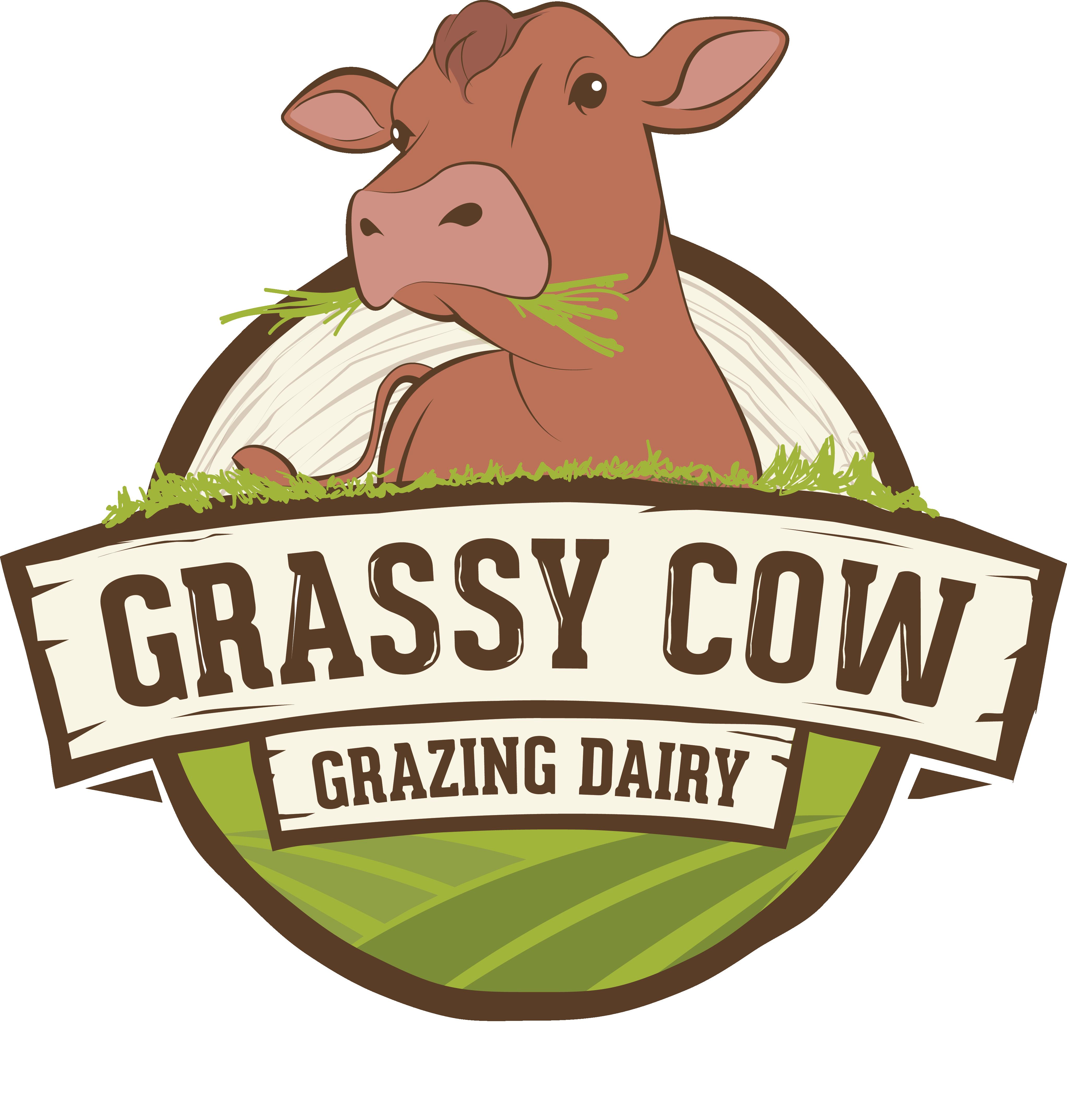 Grassy Cow Dairy Logo