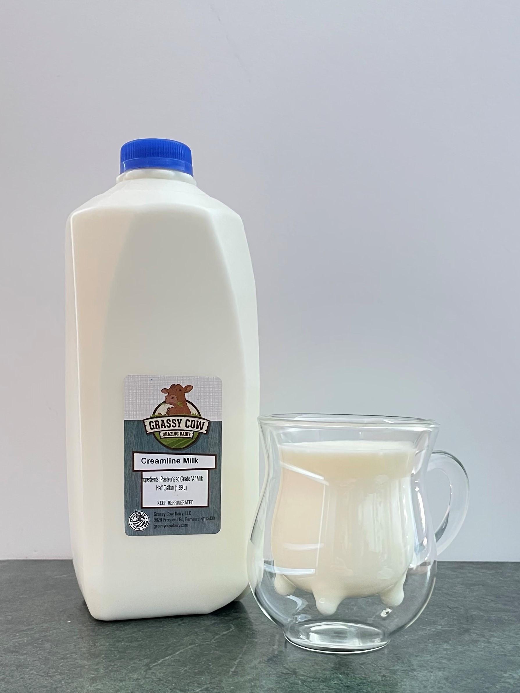 Creamline Milk - Half Gallon