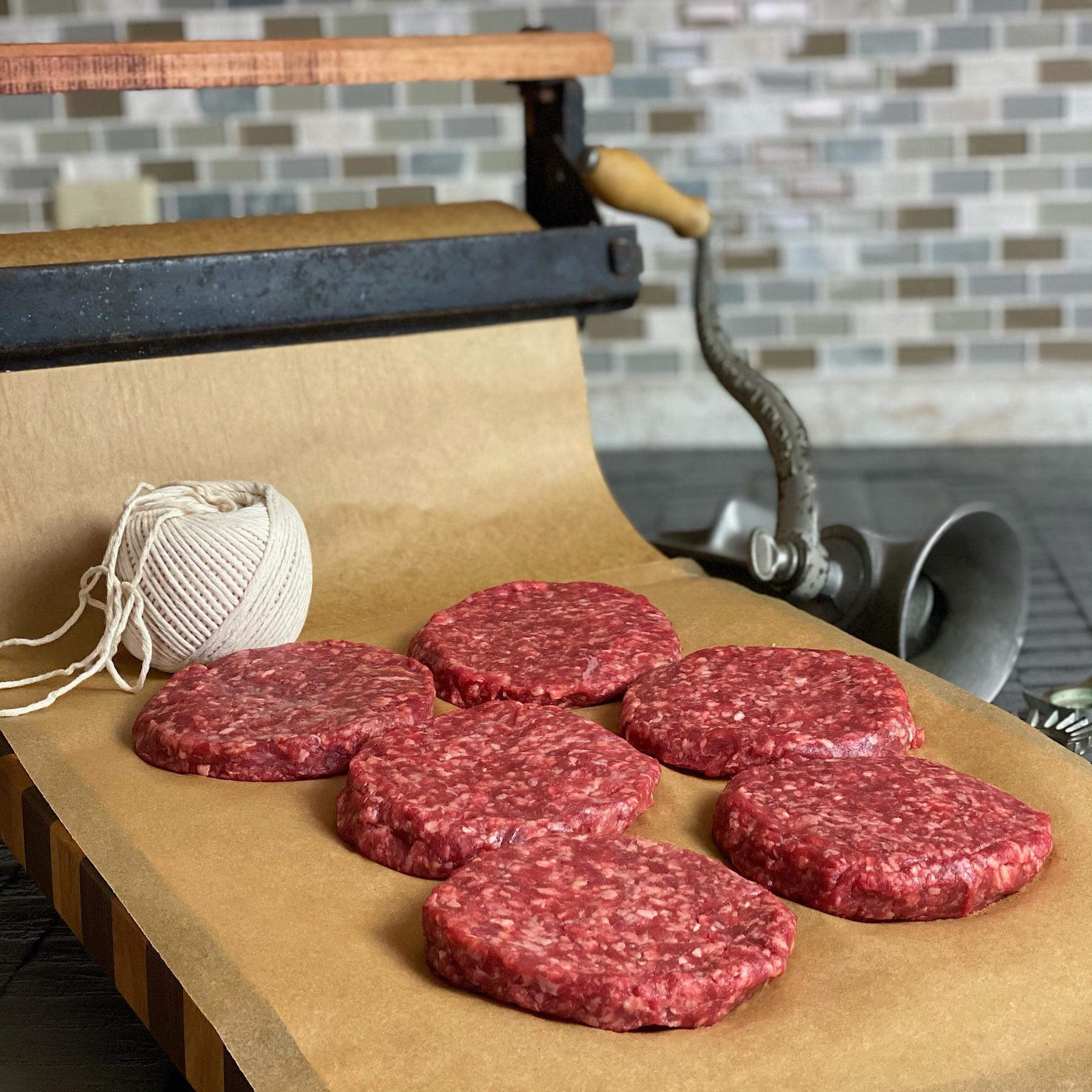 STR Premium 1/3 lb Ground Beef Patties