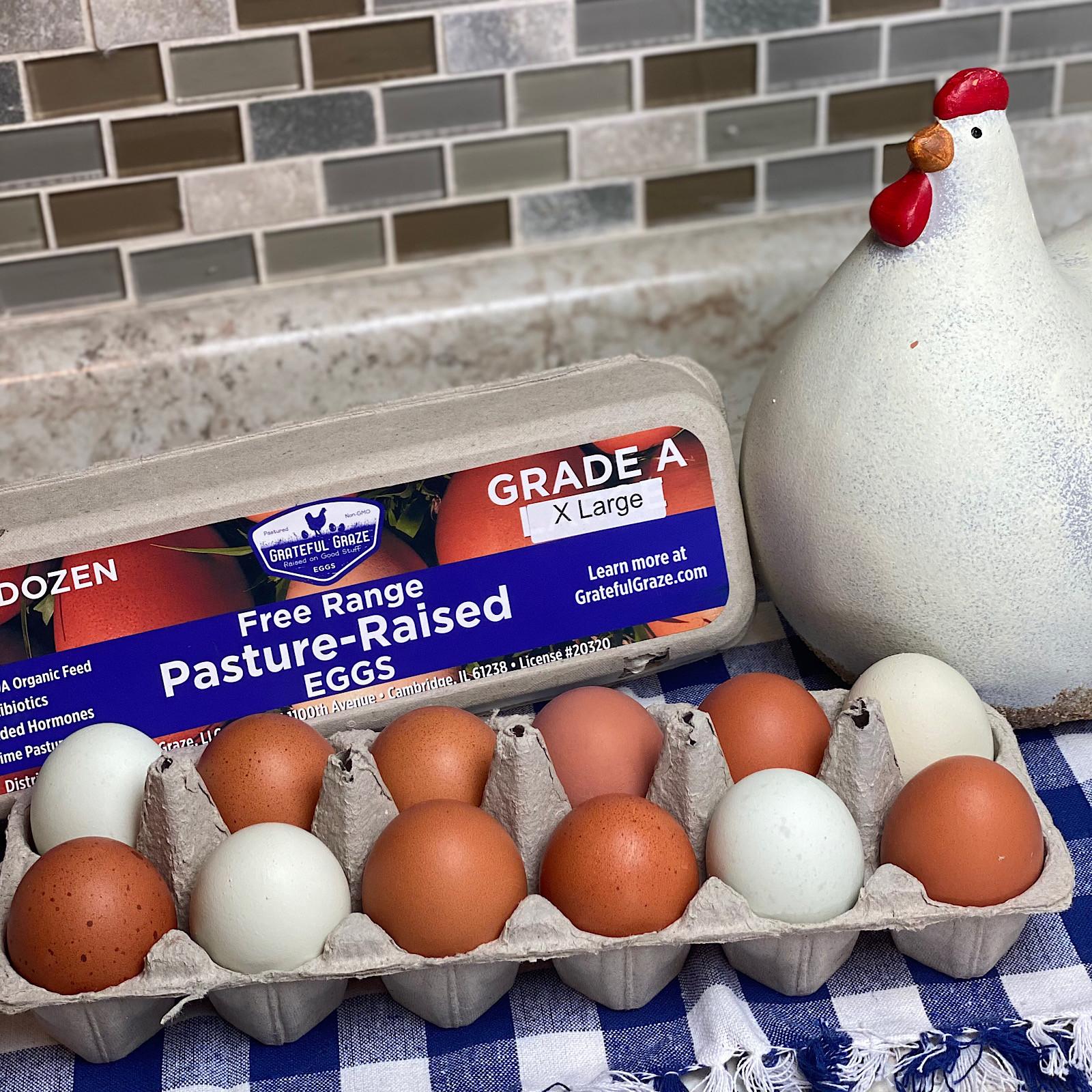 1 Dozen Extra Large Grade A Eggs