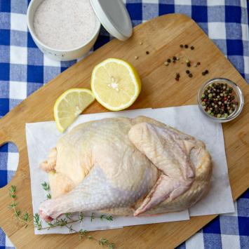 Chicken Halved