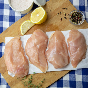 Chicken Breasts (Boneless/Skinless) 4/pkg