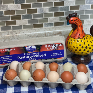 1 Dozen Large Grade A Eggs