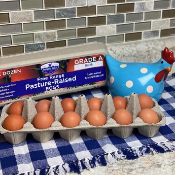 1 Dozen Small Grade A Eggs
