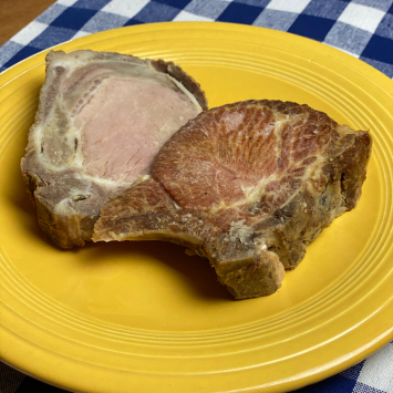 Uncured Smoked Pork Chop Ends