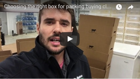Choosing the right box for packing buying club orders