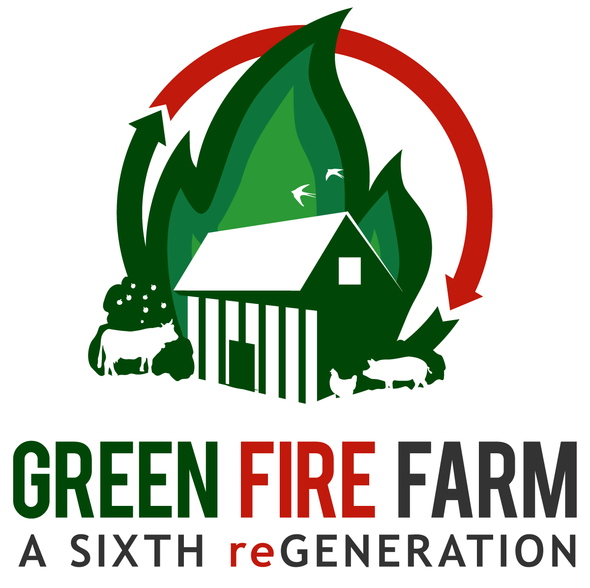 Green Fire Farm Logo