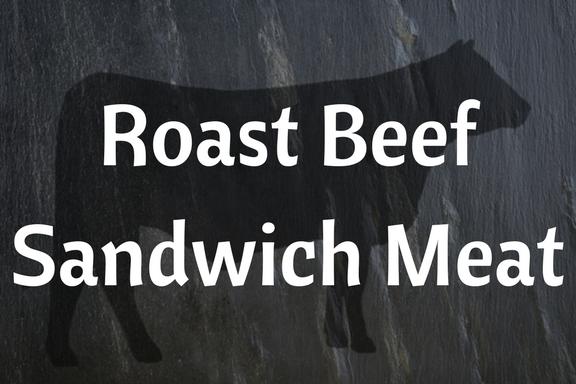 Roast Beef Sandwich Meat