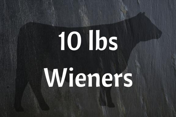 10 lbs All Beef Wieners